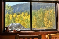 Aspen View from inside
