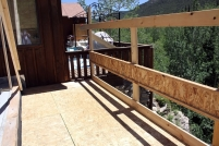 Construction of New Back Deck