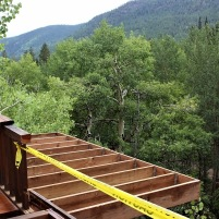 Construction of Expanded Deck