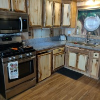 Newly remodeled kitchen (February 2020)